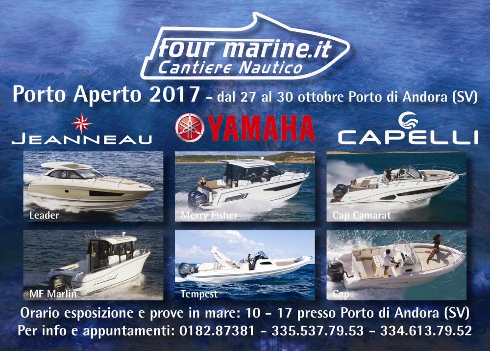 Porto Aperto dal 27 al 30 Ottobre