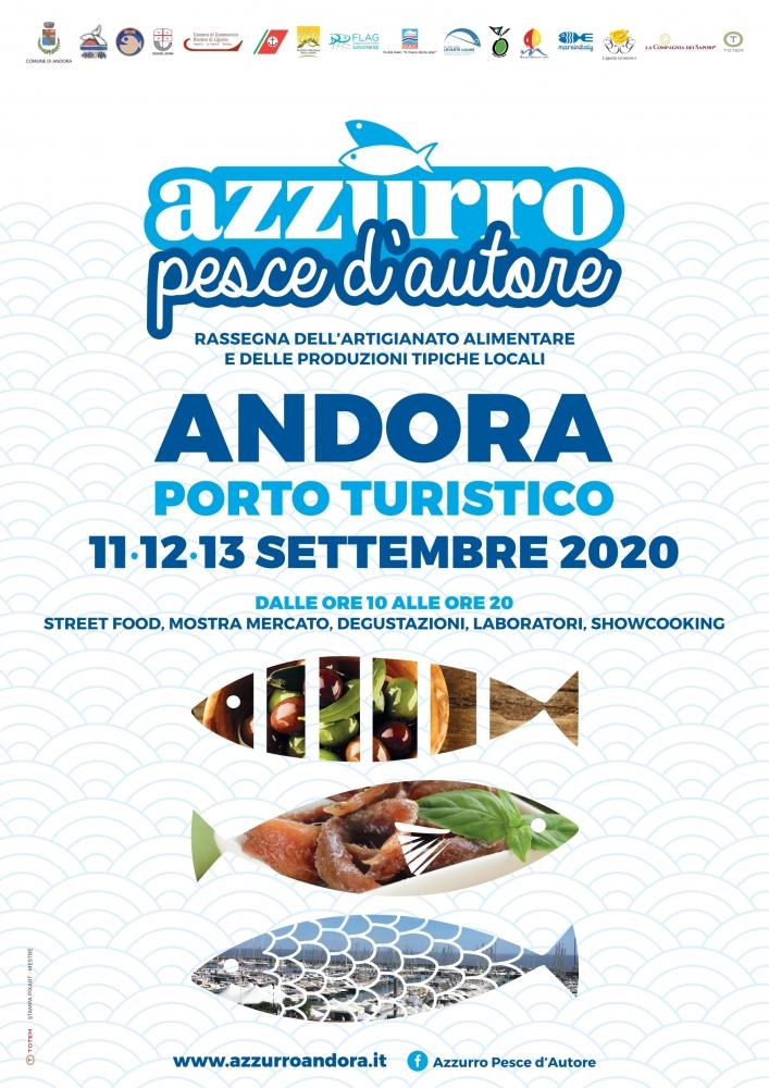 AZZURRO PESCE D'AUTORE 11-13 SETTEMBRE 2020