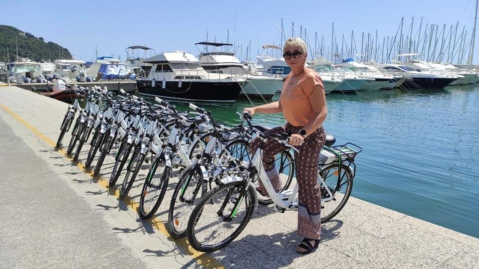 E-Bike a noleggio presso il Porto di Andora